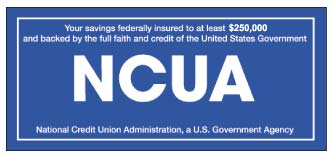 NCUA Share Insurance protects Genisys Credit Union members