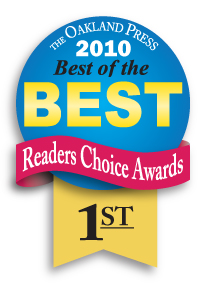 Genisys won 1st place in the Oakland Press's best of the best readers choice awards 2010