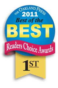 Genisys won 1st place in the Oakland Press's best of the best readers choice awards 2011