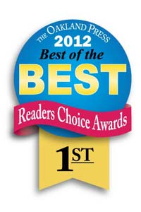 Genisys won 1st place in the Oakland Press's best of the best readers choice awards 2012