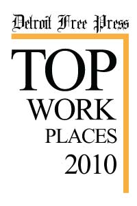 Detroit Free Press Top Workplaces 2010