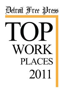 Detroit Free Press Top Workplaces 2011
