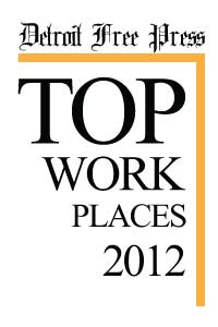 Detroit Free Press Top Workplaces 2012