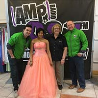 Local Teen Finds Dream Dress at Gown Town
