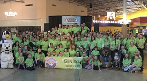 Genisys Team at Walk for Warmth