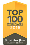 "Genisys Credit Union - ""The Employer of Choice"" 2015 top 100 workplaces"
