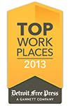 "Genisys Credit Union - ""The Employer of Choice"" 2013 top 100 workplaces"