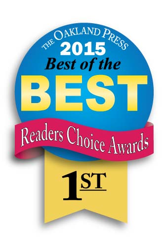 Genisys won 1st place in the Oakland Press's best of the best readers choice awards 2015