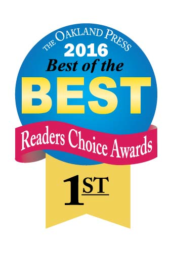 Genisys won 1st place in the Oakland Press's best of the best readers choice awards 2016