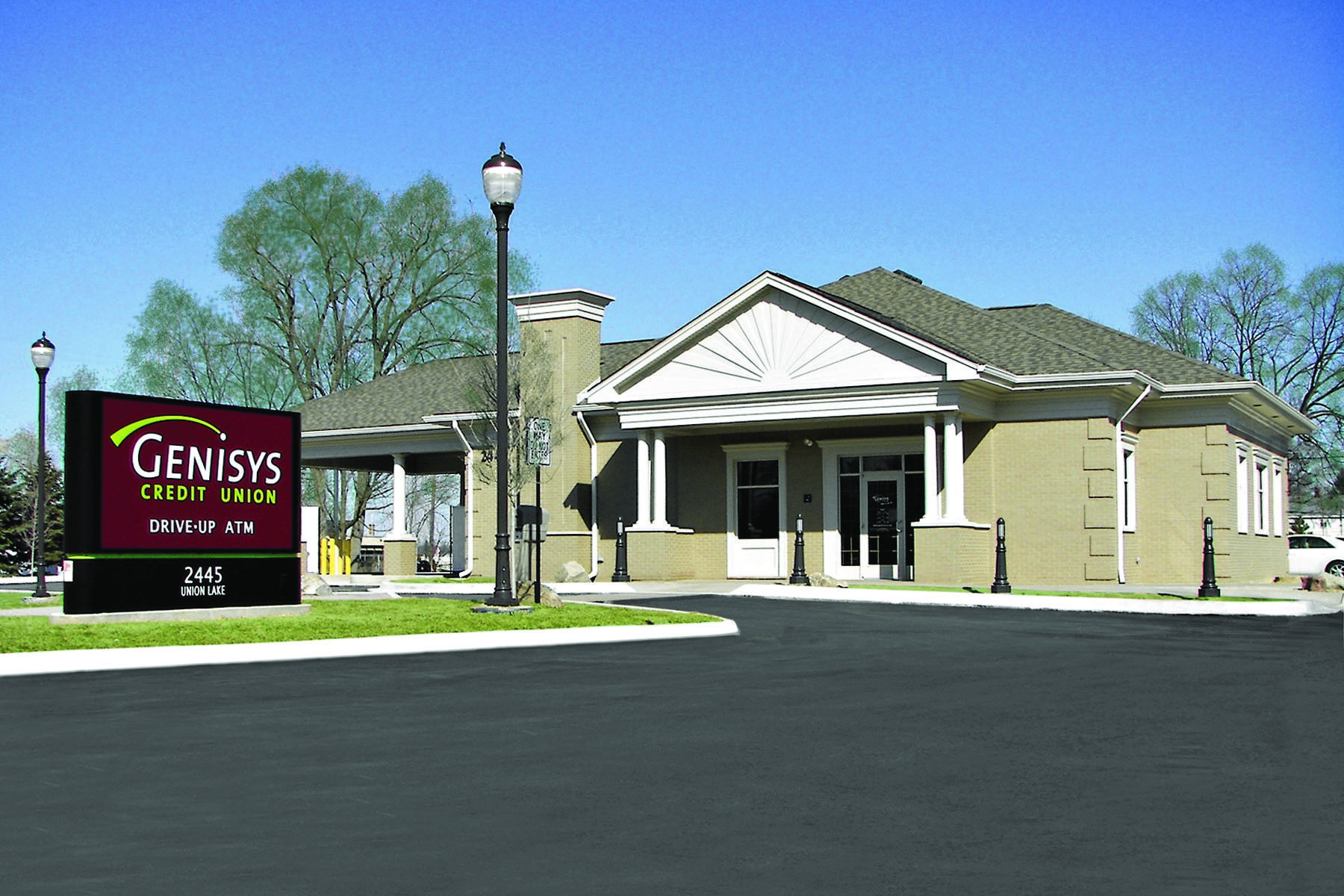 Photograph of Genisys Credit Union's Commerce Twp. Branch