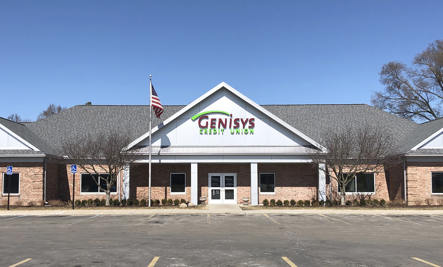 Photograph of Genisys Credit Union's Grand Blanc Branch