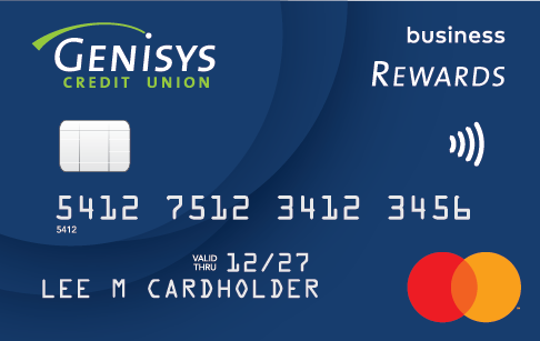 Genisys Credit Union Business Credit Rewards Mastercard