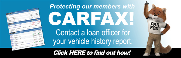 CarFax Report Banner and Link