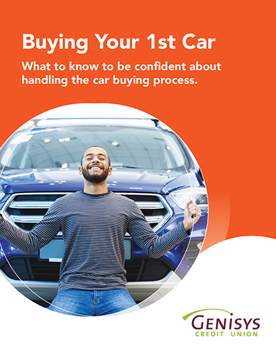 Buying Your 1st Car ebook cover