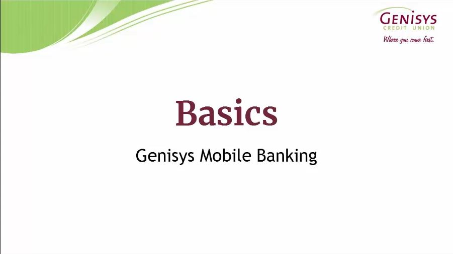 Mobile Banking Video Screenshot