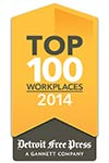 "Genisys Credit Union - ""The Employer of Choice"" 2014 top 100 workplaces"